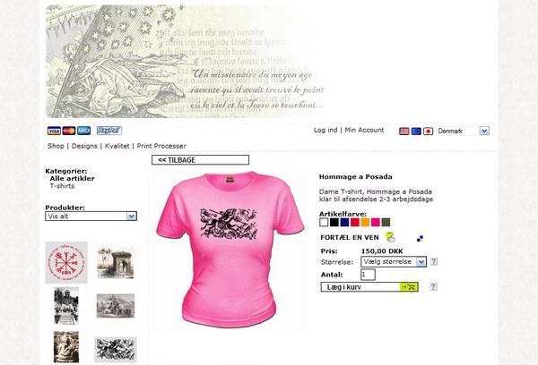 Lav din egen t shirt Runemester