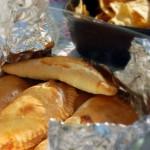 Empanadas på picninc